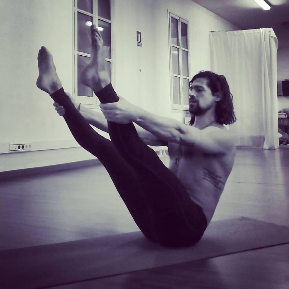 Open Leg Rocker del Pilates Clásico